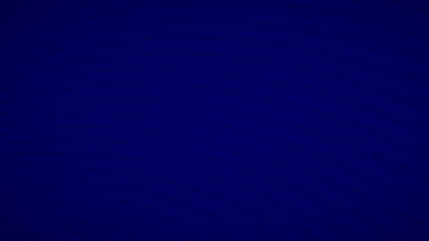Sfondo astratto di strisce curve ondulate con ombre in colori blu