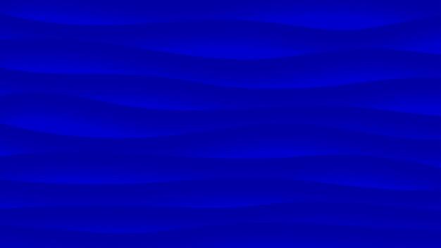 Sfondo astratto di linee ondulate con ombre in colori blu
