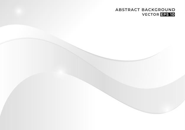 Sfondo astratto bianco e grigio concetto minimalista.