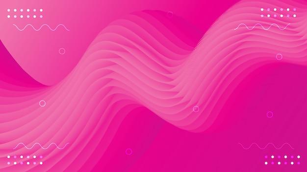 Sfondo astratto con forme fluide 3d sfondo fluido di vettore 3d forma fluida