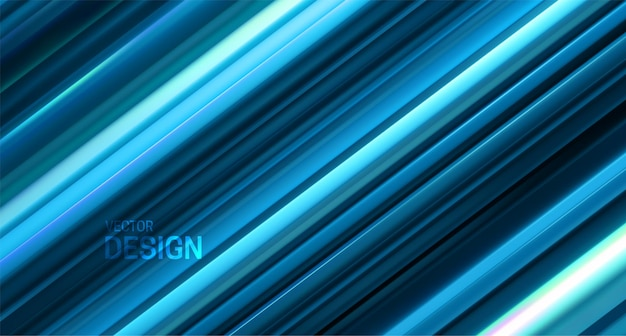 Sfondo astratto con superficie stratificata blu