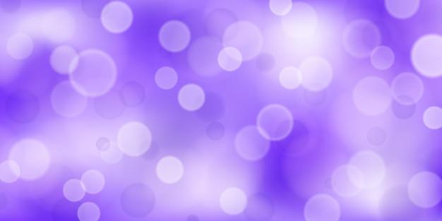 Sfondo astratto con effetti bokeh nei colori viola