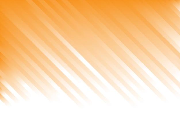 Sfondo astratto con strisce arancioni sfumate