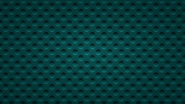 Sfondo astratto con fori in colori blu chiaro