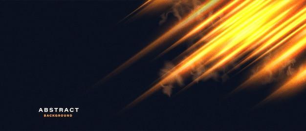 Sfondo astratto con luce al neon in movimento