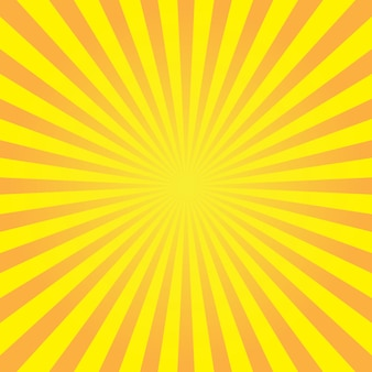Sfondo astratto con raggio di sole. illustrazione vettoriale di estate per il design