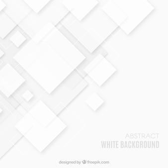 Sfondo astratto con quadrati bianchi