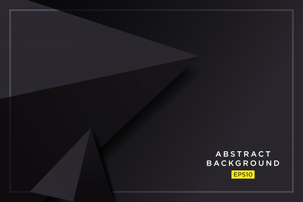 Grafico futuristico dei pantaloni a vita bassa neri neri astratti 3d