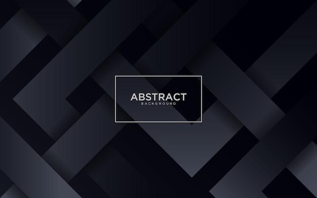 Astratto sfondo nero con forma geometrica