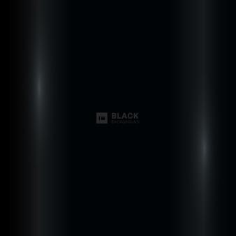 Astratto sfondo nero con illuminazione