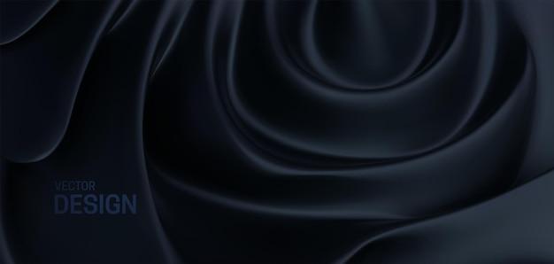 Sfondo nero astratto
