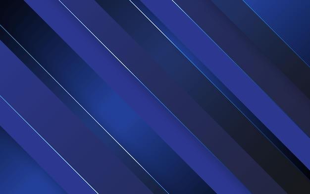 Astratto sfondo diagonale di colore nero e blu