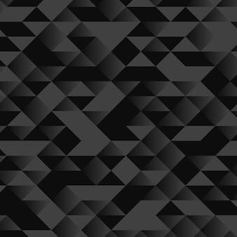 Fondo geometrico nero e grigio astratto. illustrazione vettoriale. sfondo astratto.