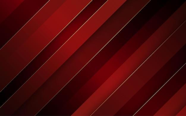 Astratto sfondo diagonale di colore nero e rosso
