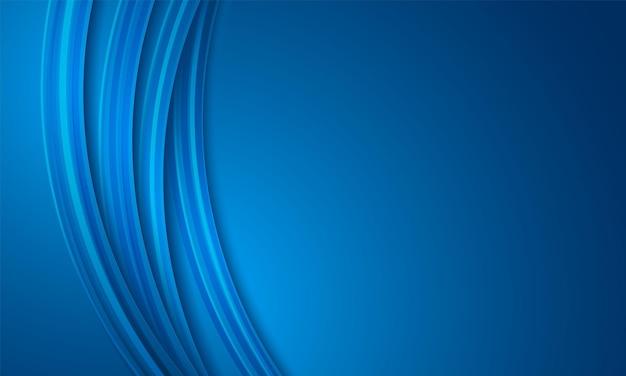 Astratto sfondo blu, sovrapposizione circolare, motivo curvo