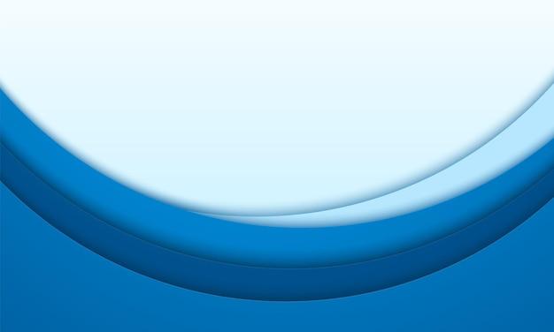 Astratto sfondo blu, sovrapposizione circolare