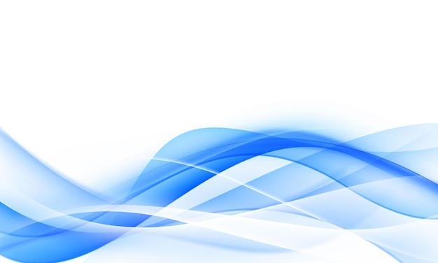 Sfondo blu astratto dinamico.