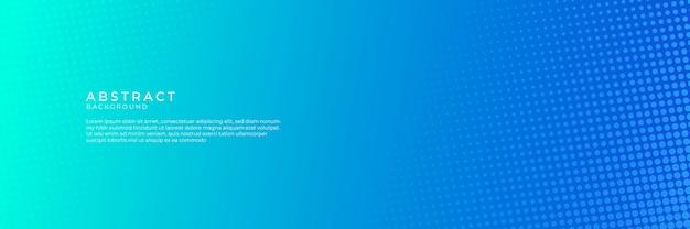 Fondo blu astratto con il concetto di tecnologia moderna