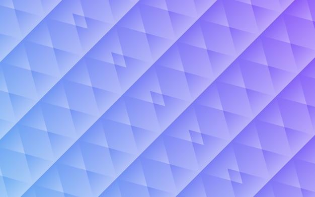 Fondo blu astratto di forme geometriche
