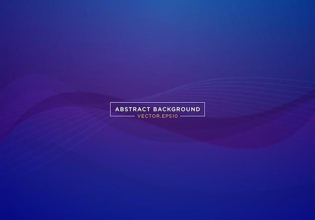 Banner sito web pagina di atterraggio blu astratto