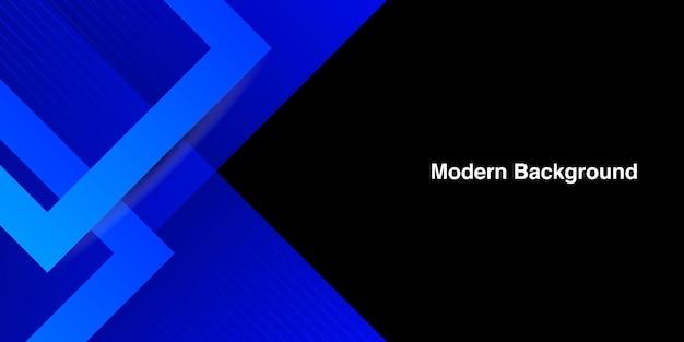 Sfondo di forma astratta blu
