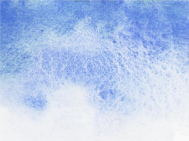 Fondo astratto dell'acquerello del cielo blu. è disegnato a mano.