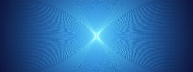 Progettazione diagonale di tecnologia blu astratta, fondo della rete digitale, concetto di comunicazione di vettore