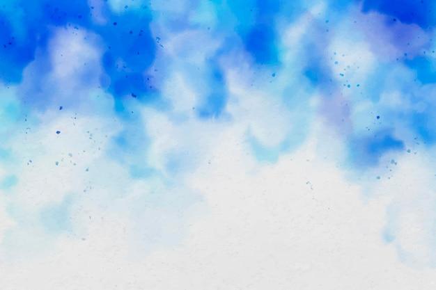 Astratto sfondo acquerello blu