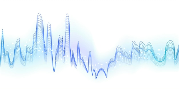 Sfondo astratto onda blu con texture