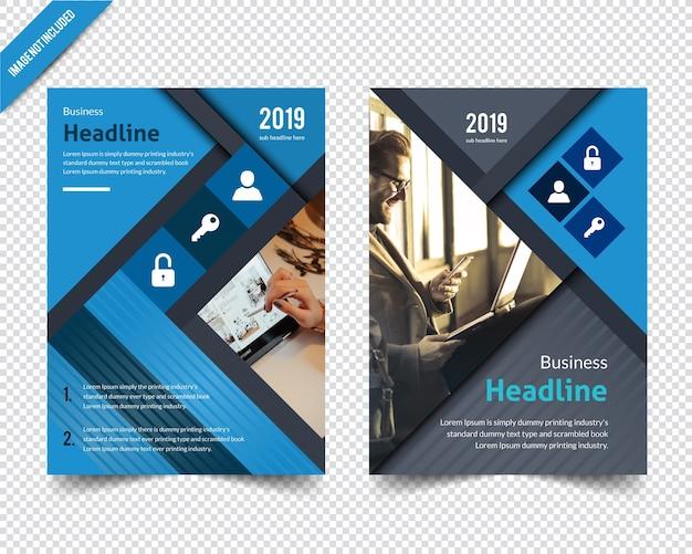 Brochure design astratto