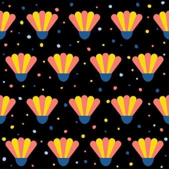 Fondo senza cuciture astratto del modello della camomilla. copertura per carta da parati infantile fatta a mano per biglietti di design, carta da parati, album, album di ritagli, carta da regalo per le vacanze, tessuto, stampa di borse, t-shirt ecc.