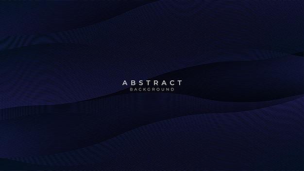 Astratto sfondo blu classico con forma geometrica