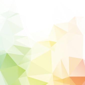 Disegno astratto del fondo del poligono di colore