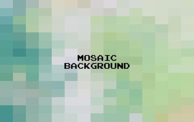 Fondo geometrico variopinto astratto, mosaico di griglia di arte del pixel, fondo di 8 bit.