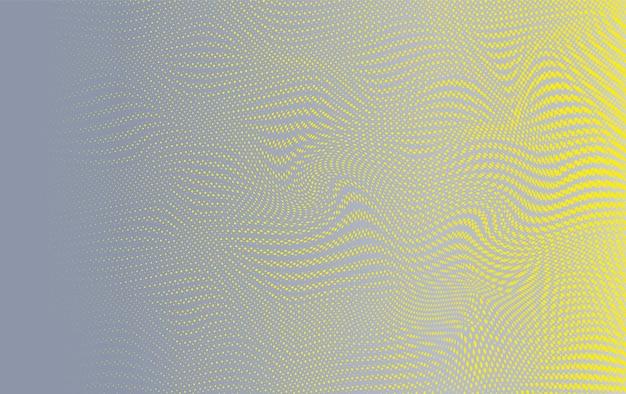 Fondo orizzontale dei punti di semitono variopinto astratto
