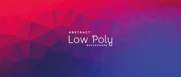 Lowpoly poligonale variopinto astratto. illustrazione vettoriale