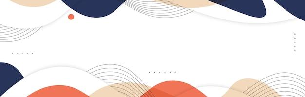 Astratto sfondo ondulato colorato. sfondo creativo colorato per banner, poster o pagina