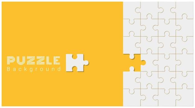 Astratto sfondo concettuale con puzzle incompleto