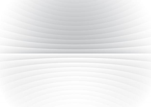 La curva astratta allinea il fondo bianco.