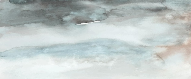 Acquerello blu scuro astratto dipinto a mano per lo sfondo. macchie vettore artistico utilizzato come elemento nel design decorativo di intestazione, poster, carta, copertina o banner. pennello incluso nel file.