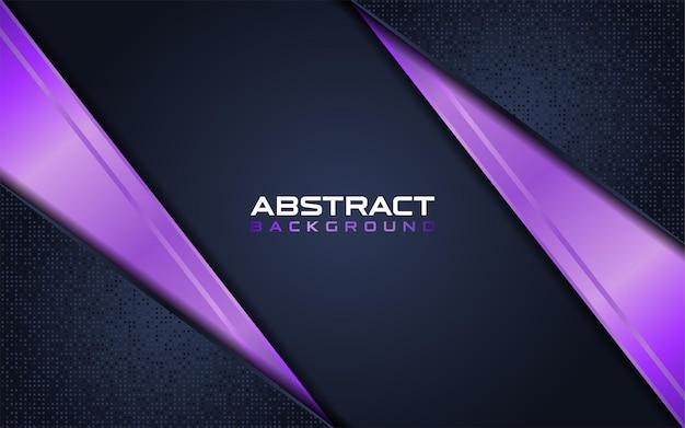 Astratto blu scuro con sfondo viola combinazione di linee