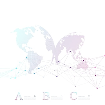 Infografica astratta di affari di vettore della molecola di dna. progettazione infografica di chimica medica. modello di business scientifico con opzioni per brochure, diagramma, flusso di lavoro, timeline, web design.