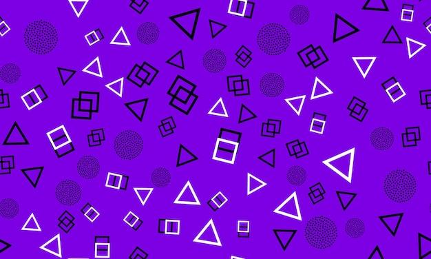 Punti astratti stile hipster anni '80-'90 modello astratto colorato sfondo funky.
