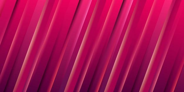 Carta da parati a strisce rosse gradiente dinamico astratto
