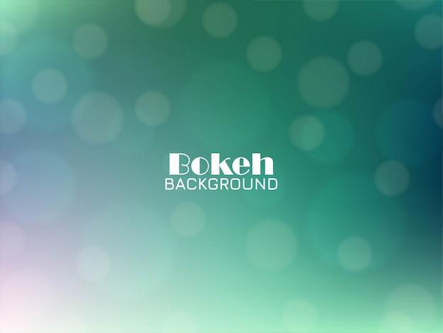 Priorità bassa elegante astratta di verde del bokeh