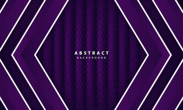Elegante astratto viola scuro su sfondo a strati sovrapposti