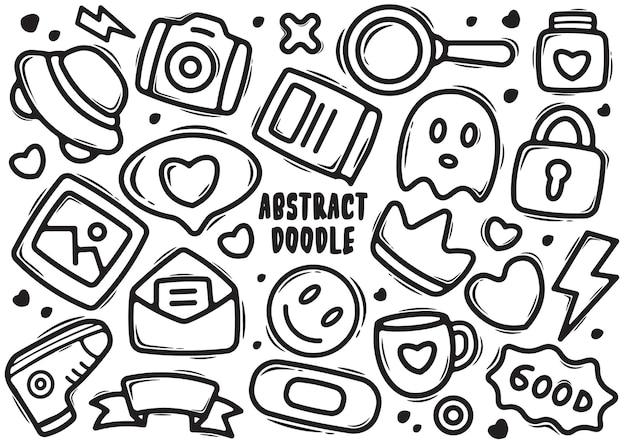 Elemento astratto doodle