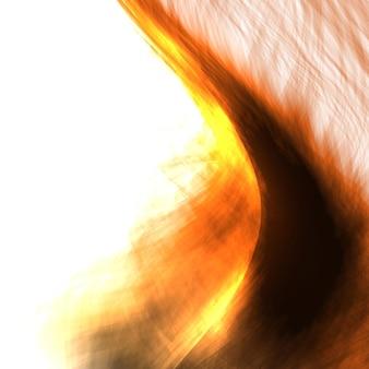 Illustrazione astratta delle fiamme del fuoco. sfondo colorato