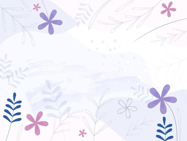 Sfondo floreale astratto