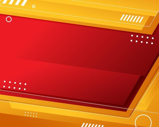 Modello di sfondo cornice astratta con spazio di copia
